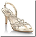 Faith gold diamante sandals