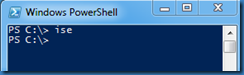 powershell_shortcut_to_ise