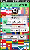 Screenshot of Football Game - Euro 2012 Free