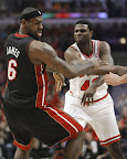 lebron james nba 130510 mia at chi 11 game 3 Heat Outlast Bulls in Physical Game 3 to Lead the Series 2 1