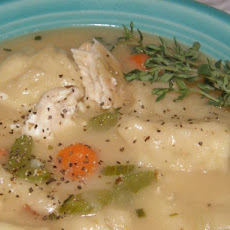 Quick Chicken Soup With Buttermilk Dumplings