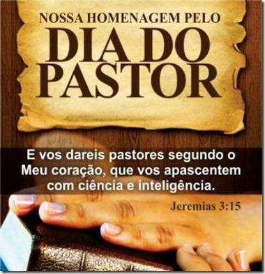 feliz dia do pastor
