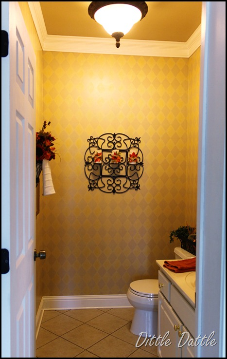 Powder-room-decorated-for-fall