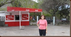 Coca Cola Stand in village