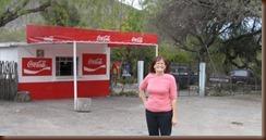 Coca Cola Stand in village