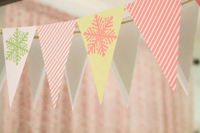 Printable Holiday Banner from Catch My Party