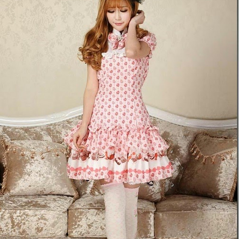 Dress Cabinets For Success: Look Like A Living Doll With A Tidebuy Lolita Dress