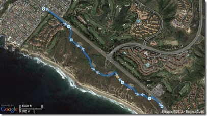 Running Crystal Cove 2-27-2013