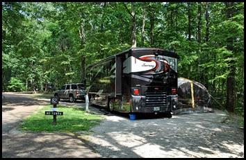 07 - Monte Sano SP, Huntsville, AL Site 82 FHU 50amp pullthru
