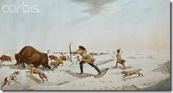 rindisbacher buffalo hunting in late winter