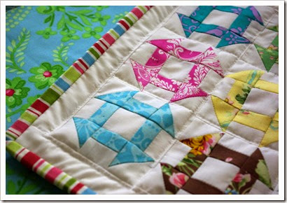 Mini Churn Dash Quilt