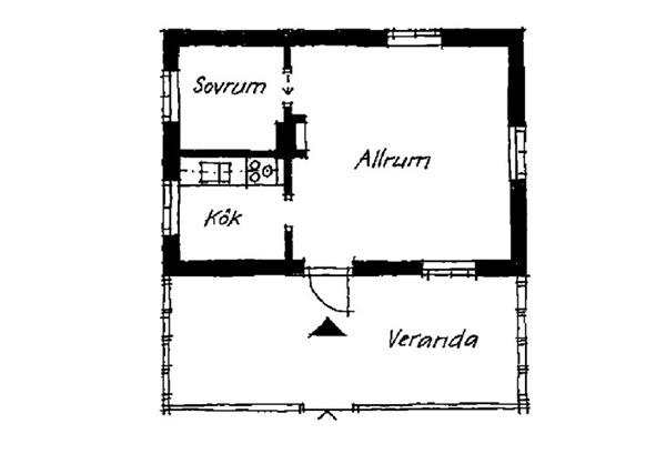case e interni - 45 mq - casa vacanza Svezia (11)