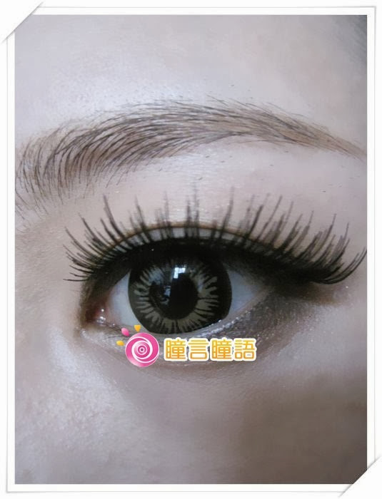 日本EOS隱形眼鏡-Big Size咖12