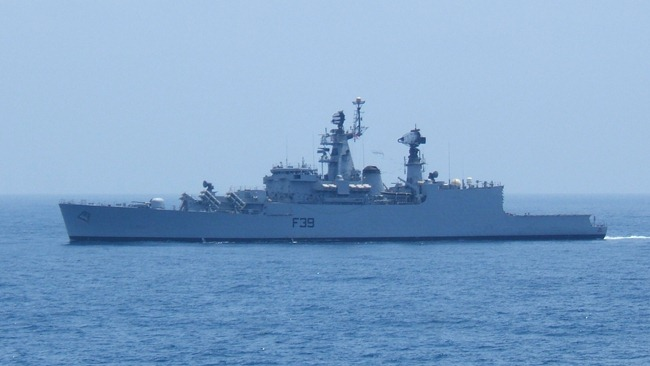 Brahmaputra Class Frigate INS Betwa [F39] of the Indian Navy