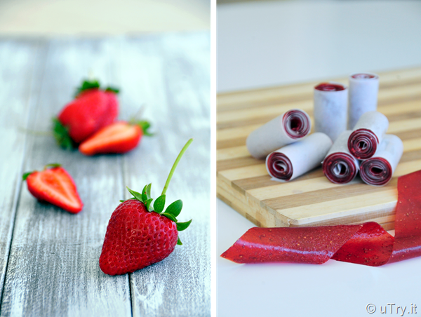 Homemade Strawberry Roll-Ups