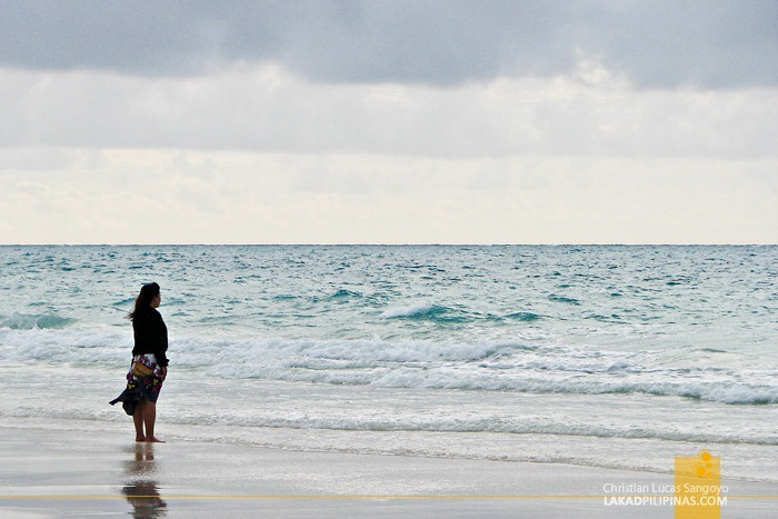 Alone Time at Boracay Beach