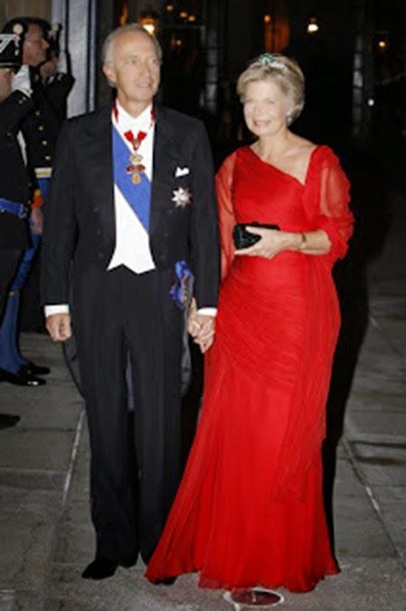 El archiduque Christian y la archiduquesa Marie-Astrid de Austria