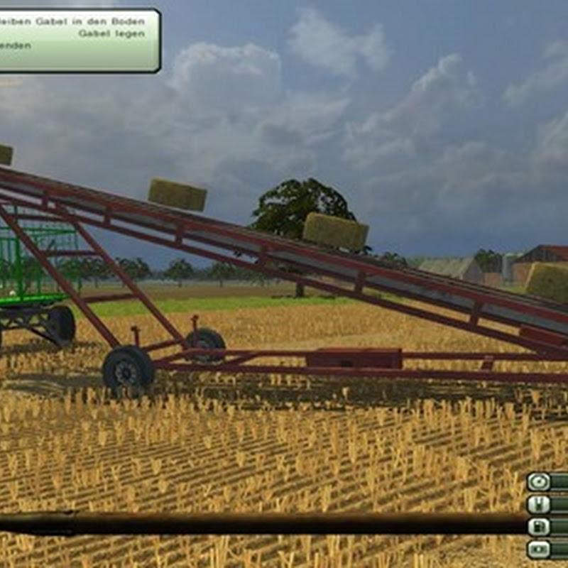 Farming simulator 2013 - Bale conveyor v 2.0