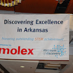 Molex STEM Event-Discovering Excellence in Arkansas