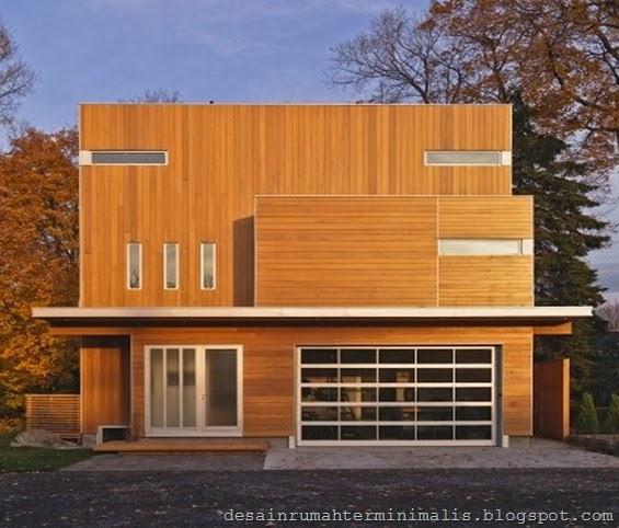 Contoh Desain dan Konsep Gambar Rumah Kayu Terbaik