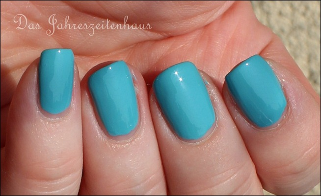 0 P2 Limited Edition LE Pool Side Party Nagellack 020 Turquoise Sky 4