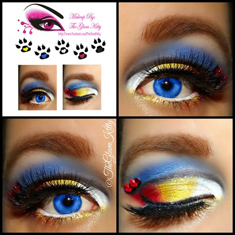 Sailor Moon Glam Collage