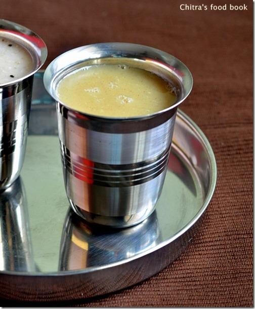 Millet porridge-sweet