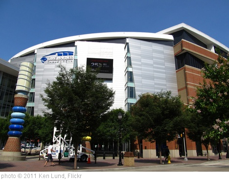 'Time Warner Cable Arena, Home of the Charlotte Bobcats, Charlotte, North Carolina' photo (c) 2011, Ken Lund - license: http://creativecommons.org/licenses/by-sa/2.0/