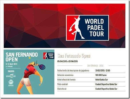 Comienza la pre-previa en el San Fernando (Cádiz) WPT 2015 con máxima expectación.