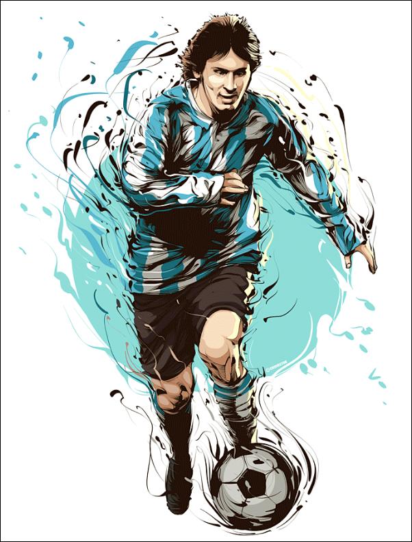 Lionel Messi – Joueur de football (Argentin)