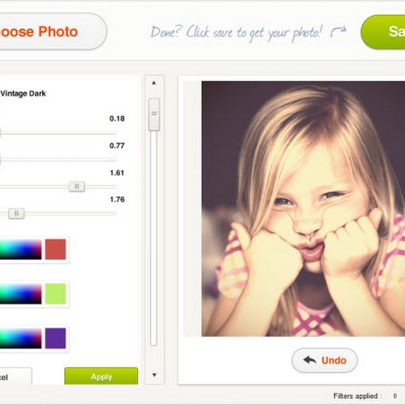 Picfull: Apply Beautiful Effects and Filters to Pictures Online