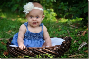 6 month baby photos