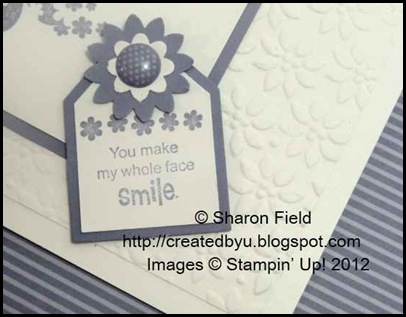 pretty petals embossing with tag layers