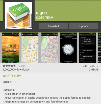 c:geo version 2013.01.10