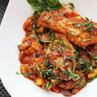 Easy Ratatouille with Chicken