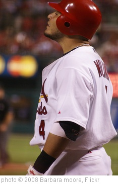 'Yadier Molina' photo (c) 2008, Barbara moore - license: http://creativecommons.org/licenses/by-sa/2.0/
