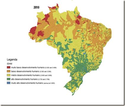 IDH Brasil 2010