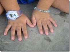 tangan budak kecik