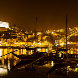 Historic Oporto by Jose Moreira - City,  Street & Park  Historic Districts ( hold, oporto, douro, historic, river, city )