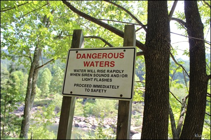 no water in Ocoee River at whitewater center
