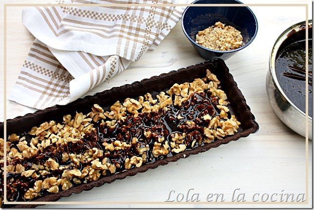 tarta chocolate nueces 1