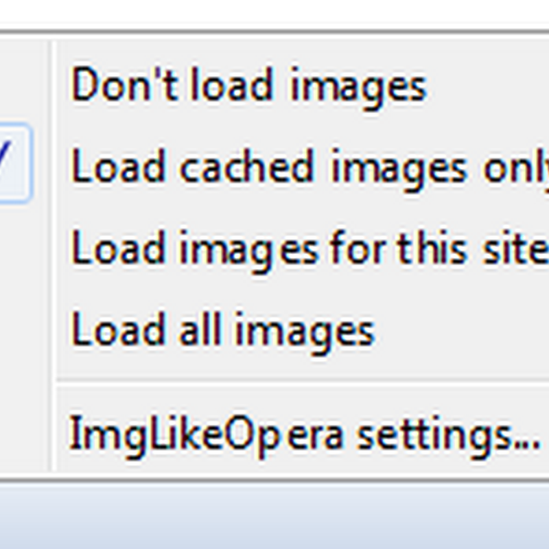 ImgLikeOpera Loads Images From Cache in Firefox, Just Like in Opera