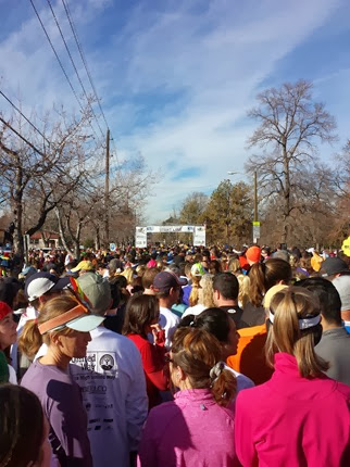 Mile High Turkey Trot Start