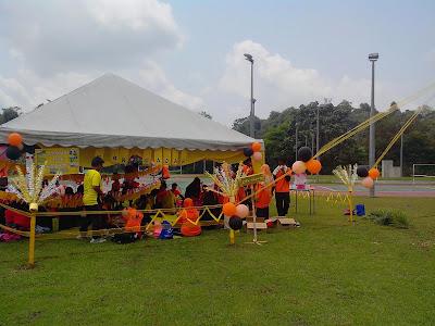 Gambar Hiasan Khemah Rumah Sukan Kejohanan Olahraga Tahun 2013
