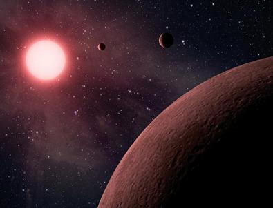 ilustração do exoplaneta KOI-961