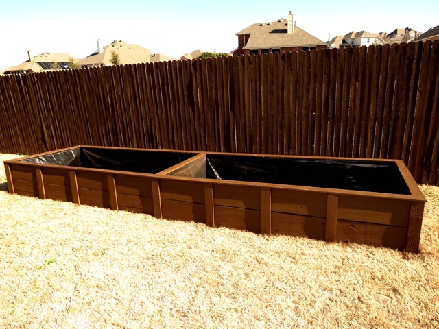 building raised garden box style with cents9