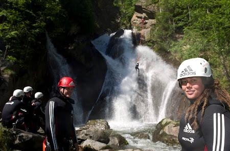 Aventura Austria: Oetzal canyoning