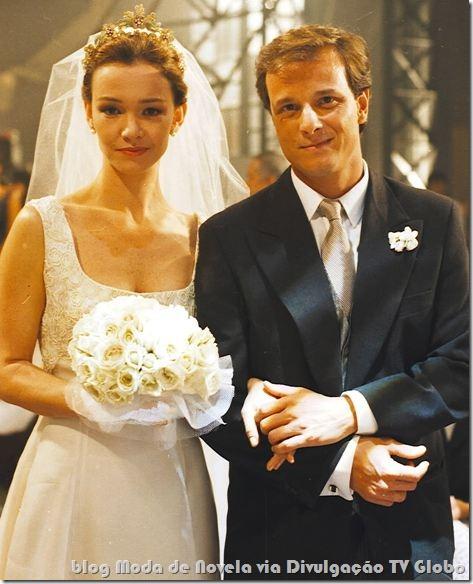 moda da novela zazá - vestido de noiva da fabiana