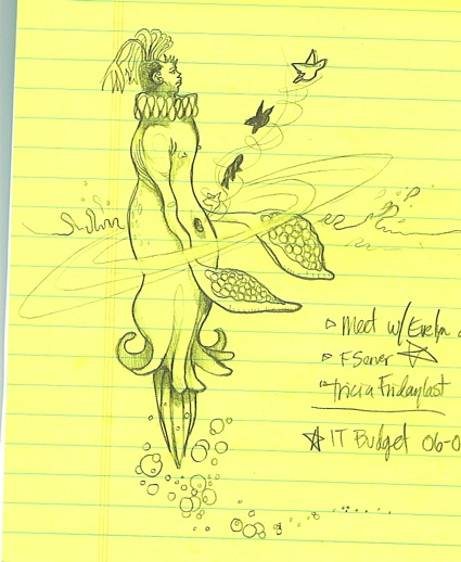 Monday Morning ExecStaff doodle