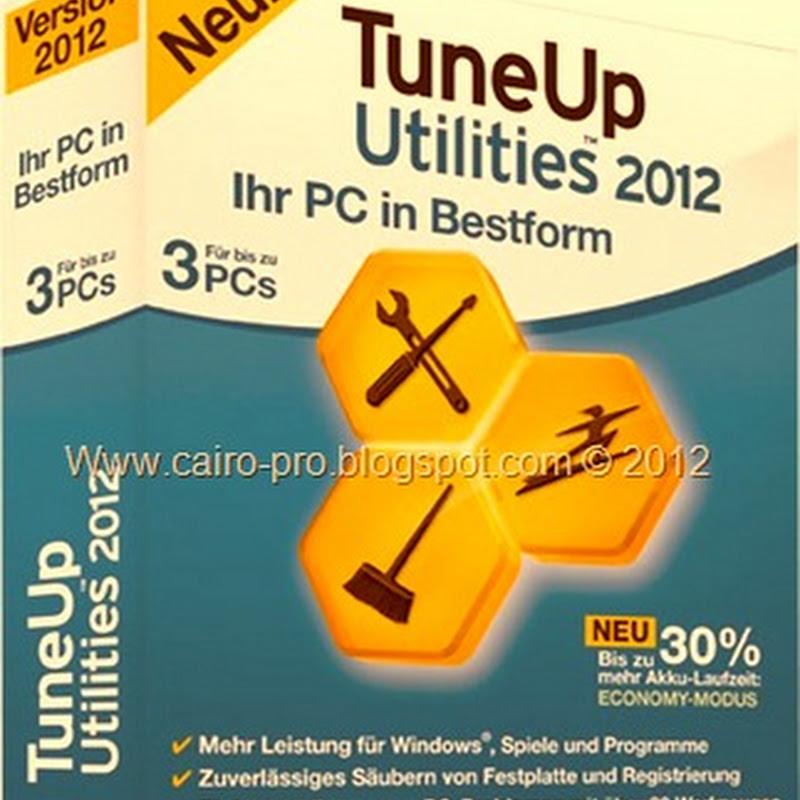 Free Download Tuneup Utilities 2012برنامج اصلاح الويندوز تيون اب بأحدث اصدار